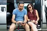 S manželkou Hanou Hajdovou v zákulisí