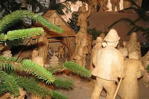 Na pět desítek betlémů vystavují zahradkáří na vánoční výstavě ve Frýdlantu nad Ostravicí.