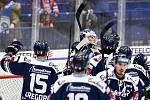 Utkání 41. kola hokejové extraligy: HC Vítkovice Ridera - PSG Berani Zlín, 28. ledna 2020 v Ostravě. Na snímku radost Vítkovic.