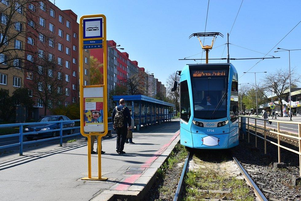Začne modernizace frekventované zastávky Kotva a tramvajové trati.