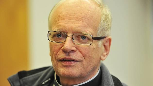 Biskup František Václav Lobkowicz.