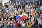 Turnaj Světového okruhu v plážovém volejbalu kategorie 4*, 6. června 2021 v Ostravě. Fanoušci.