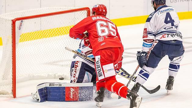 HC Vítkovice Ridera - HC Oceláři Třinec.