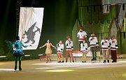 Muzikál na ledu Sněhurka.