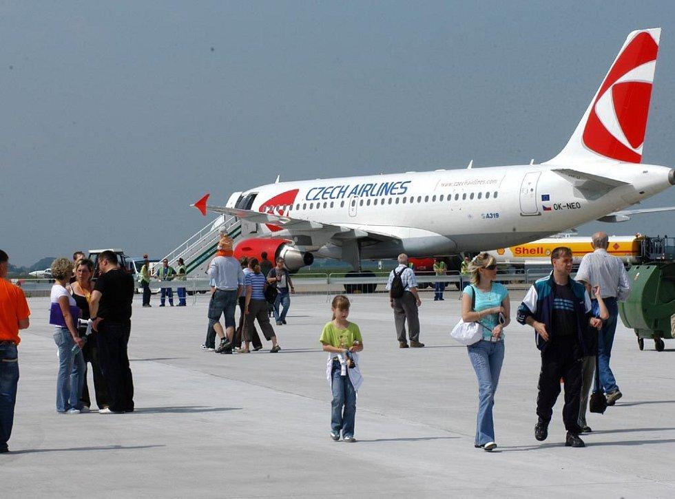 Mošnovské letiště Leoše Janáčka otevřelo v sobotu dveře veřejnosti