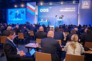 28. kongres ODS v hotelu Clarion Ostrava, 13. ledna 2018.