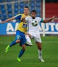 I. liga, 4. kolo, FC Baník - FK Teplice: 3 : 3, na snímku vpravo Milan Baroš