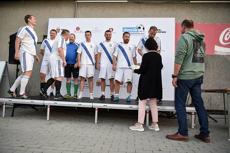 Zaměstnanecká liga Deníku, 22. září 2020 v Palkovicích. Vítězný tým Go Steel.