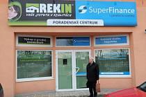 Pobočka realitní kanceláře Rekin.