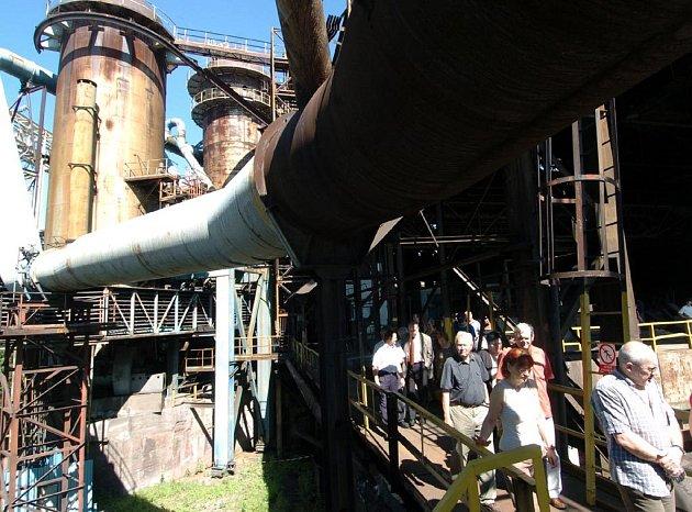 Dolní oblasti Vítkovic se může do budoucna stát velkým lákadlem pro zahraniční turisty