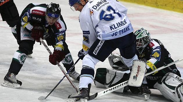 Snímky z utkání HC Vítkovice Steel - BK Mladá Boleslav.