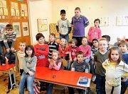 Třeťáci ze Základní školy Mitrovická v Nové Bělé