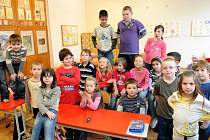 Žáci 2.A Základní školy Gen. Janka v Ostravě-Mariánských Horách