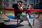 Ostrava v celostátní karanténě (městská část Dubina), 18. března 2020. Vláda ČR vyhlásila dne 15.3.2020 celostátní karanténu kvůli zamezení šíření novému koronavirové onemocnění (COVID-19).