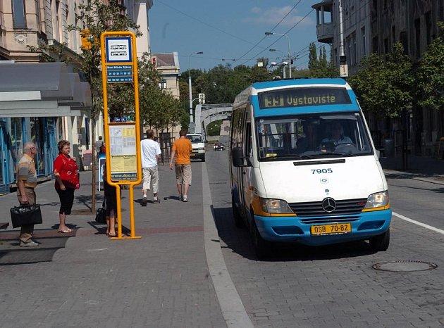 Podobný minibus bude jezdit i v Ostravě-Jihu