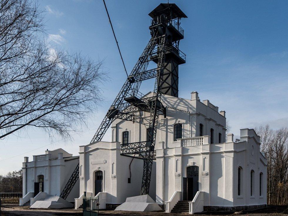 Těžní budova Jámy Alexander II stojící v Kunčičkách. Ilustrační foto.