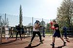 ZŠ Nádražní v Ostravě 19. a 20. dubna 2019 hostila kemp boxerských reprezentací Česka, Litvy a Polska.