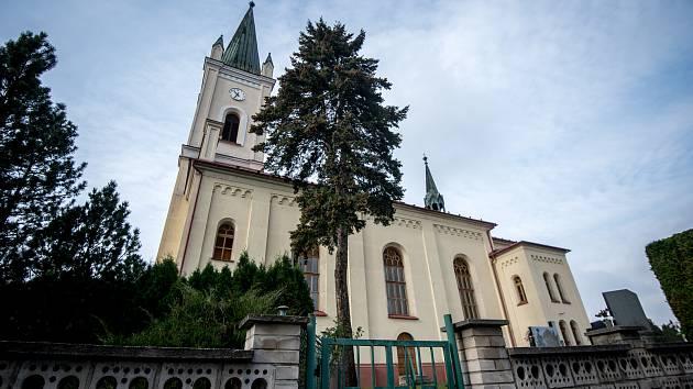 Kostel svaté Marie Magdaleny v obci Dětmarovice.