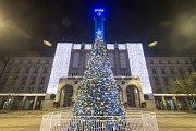 Vánoce 2018 v Ostravě. Ilustrační foto.
