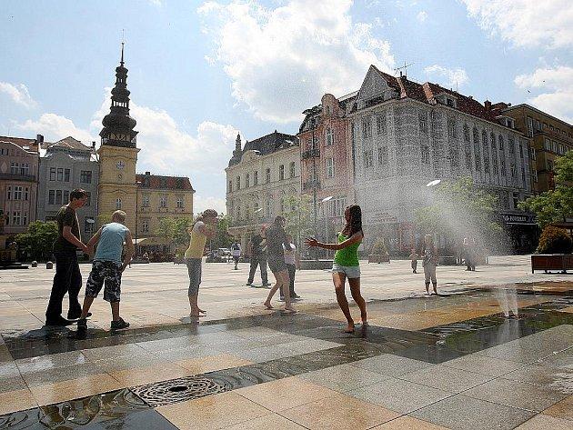 Letní počasí panuje v těchto dnech nejen v Moravskoslezském kraji, ale v celém Česku.