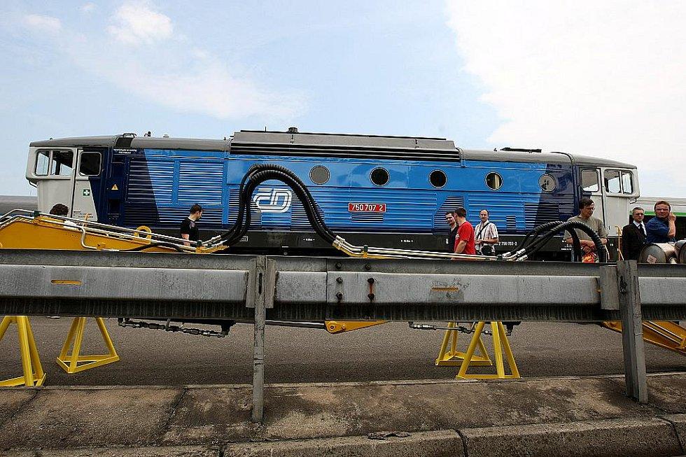 V Ostravě v úterý začal mezinárodní veletrh Czech Raildays.