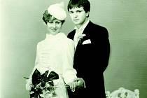Svatební den manželů Henčlových – 2. březen 1985