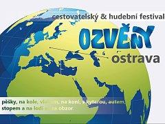 Pozvánka na cestovatelsko-hudební festival Ozvěny Ostrava.