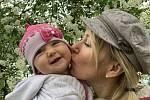Katta s dcerou Aničkou.