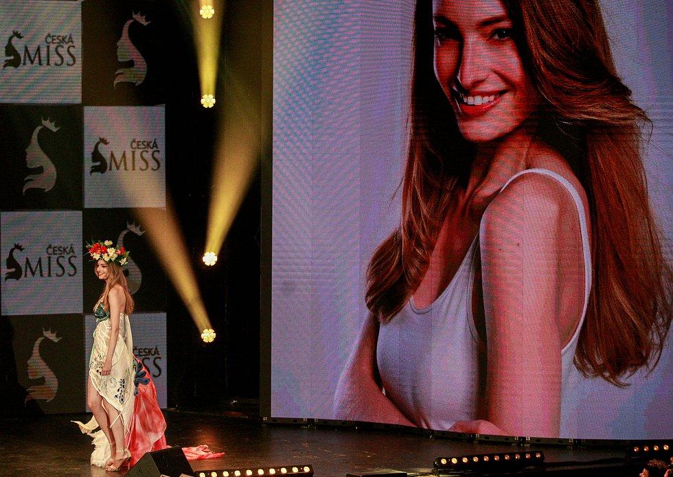 Vyhlášení české Miss 2018 v Gongu.Tereza Křivánková