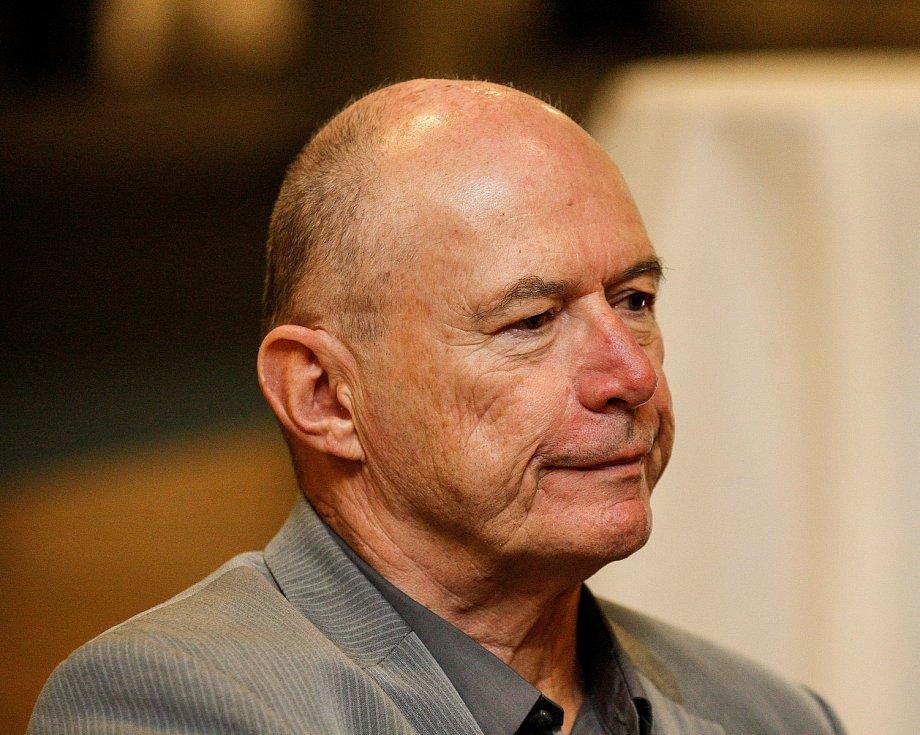 Setkání s hejtmanem Ivo Vondrákem v Ostravě, v multifunkční hale Gong. Na snímku Jan Lata