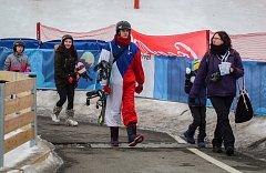 Olympijský festival u Ostravar arény.