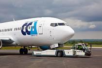 Letecká společnost Central Charter Airlines (CCA) nasazuje nový letoun Boeing 737–36Q Classic