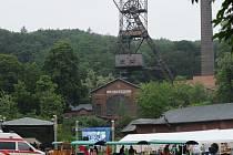 Areál ostravského hornického muzea na Landeku.