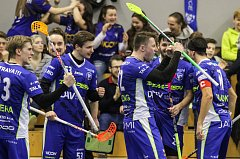 Florbalové čtvrtfinále: Vítkovice - Střešovice
