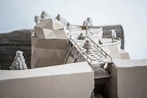 Stavby z vlnité lepenky. Ilustrační foto