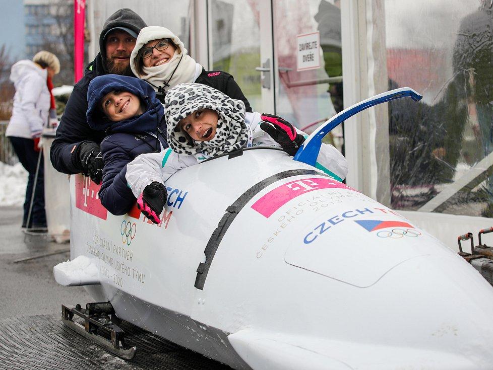 Olympijský festival u Ostravar Arény v Ostravě, neděle 18. února 2018,