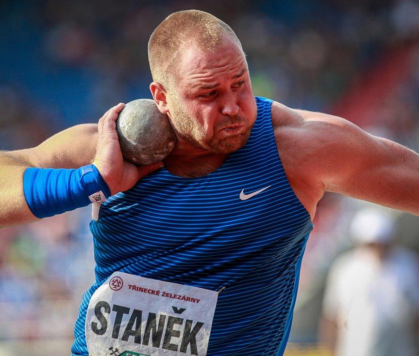 56. ročník atletického mítinku Zlatá tretra, který se konal 28. června 2017 v Ostravě. Na snímku Tomáš Staněk.