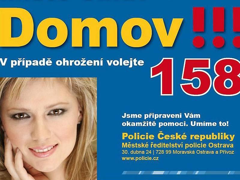 Místo činu? Domov!!! Takový byl slogan kampaně ostravské policie zaměřené na domácí násilí.
