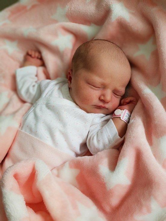 Isabel Hilse, Opava, narozena 11. června 2021 v Opavě, míra 50 cm, váha 3700 g. Foto: Lucie Dlabolová, Andrea Šustková