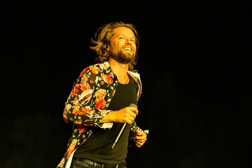 Hudební festival Colours of Ostrava 2019 v Dolní oblasti Vítkovice, 18. července 2019 v Ostravě. Na snímku Richard Krajčo.