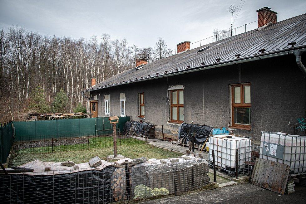 Sousedské spory v Ostravě-Michálkovicích.  Leden 2021.