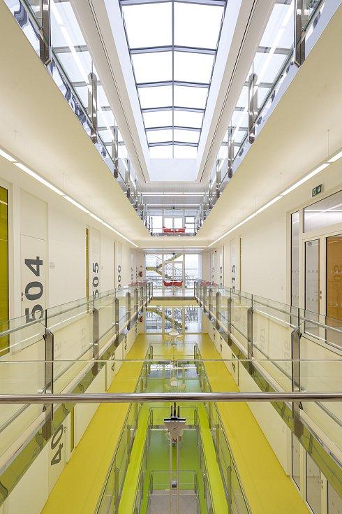 Vzdělávací komplex UTB ve Zlíně. Vizualizace: AI Design