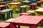 Stavební přípravy v těchto dnech v areálu Dolní oblasti Vítkovic finišují. Colours of Ostrava 2013 vypukne už ve čtvrtek 18. července.
