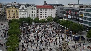 Demonstrace v Ostravě, 20.7.2020