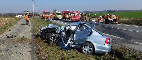 Tragická nehoda uStaré Vsi nad Ondřejnicí.