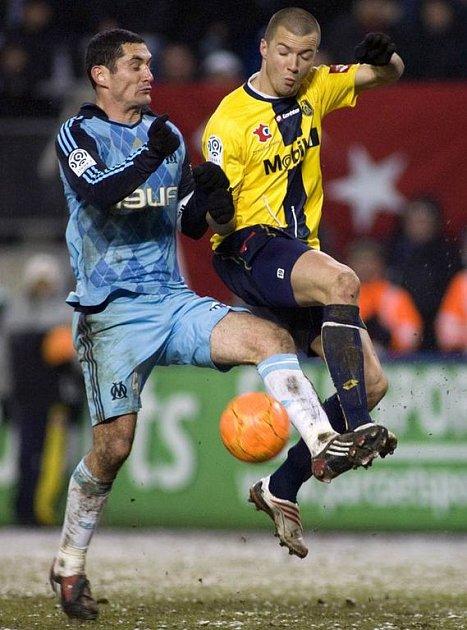 Václav Svěrkoš v dresu FC Sochaux