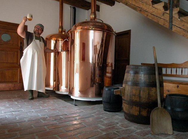 V zábřežském zámečku se už vaří pivo