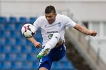 Patrizio Stronati na snímku z semifinále fotbalového poháru MOL Cup mezi FK Mladá Boleslav a SFC Opava v Mladé Boleslavi 26. dubna 2017.