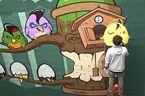 Ostravský streetartový umělec Radoslav Kocián se věnuje legálnímu graffiti přes 20 let