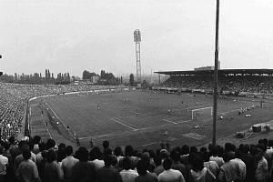 Bazaly na archivním snímku. Legendární ostravský stadion v pátek 19. dubna 2019 oslavil 60 let.